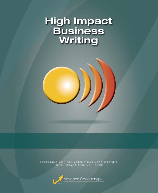 High Impact Business Writing